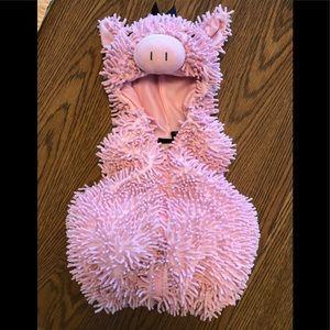 Pig Halloween costume.